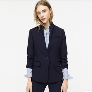 J Crew Regent Jacket Blue Four Season